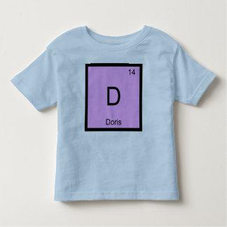 Doris Name Chemistry Element Periodic Table Toddler T-shirt