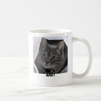 Doris the cat coffee mugs