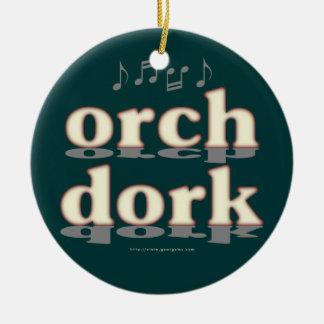 Dork de Orch Adorno Navideño Redondo De Cerámica