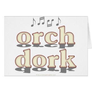 Dork de Orch Tarjeta De Felicitación