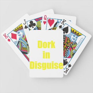 Dork in Disguise Poker Cards