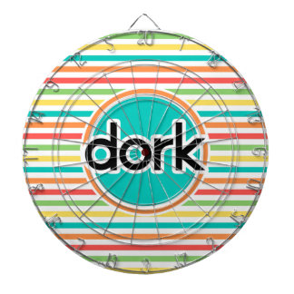 Dork, rayas brillantes del arco iris