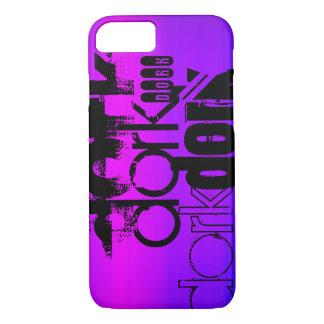 Dork; Vibrant Violet Blue and Magenta iPhone 7 Case
