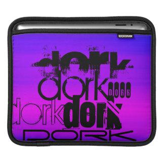 Dork; Vibrant Violet Blue and Magenta Sleeve For iPads