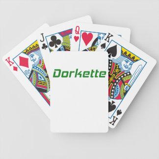 Dorkette Poker Cards