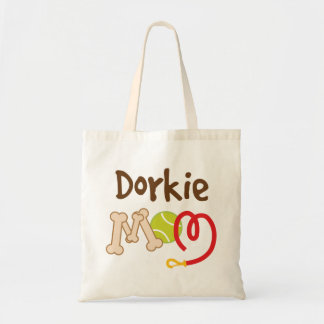 Dorkie Dog Breed Mom Gift Canvas Bags