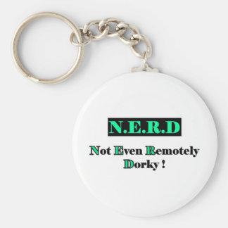 Dorky Nerd Full Keychain