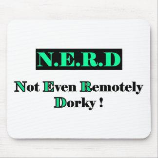 Dorky Nerd Full Mouse Pad