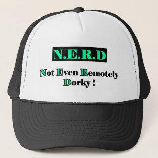 Dorky Nerd Full Trucker Hat