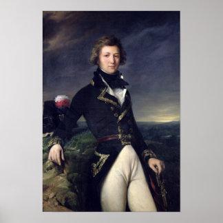 d'Orleans 1834 de Louis-Felipe Póster
