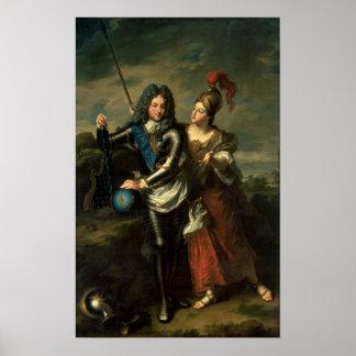 d'Orleans de Felipe II el regente de Francia Póster