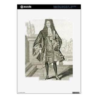 """d'Orleans de """"Monsieur"""" de otra manera Philip Duc  iPad 3 Skins"""