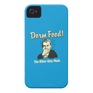 Dorm Food: Other Grey Meat iPhone 4 Case