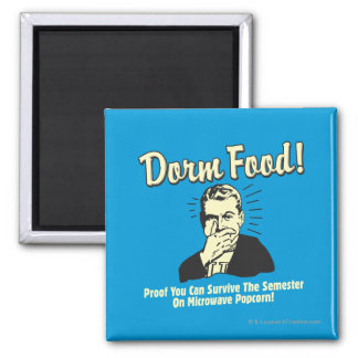 Dorm Food: Survive Microwave Popcorn Magnet