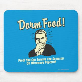 Dorm Food: Survive Microwave Popcorn Mouse Pad