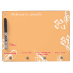 "Dorm Message Board - ""With flourish"""