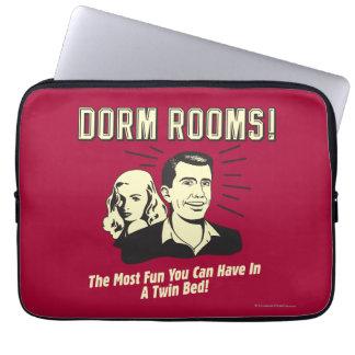 Dorm Room: Most Fun Twin Bed Computer Sleeve