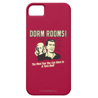 Dorm Room: Most Fun Twin Bed iPhone SE/5/5s Case