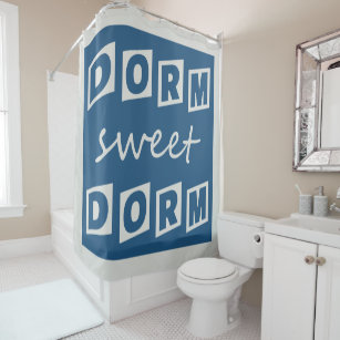 Dorm Sweet Shower Curtain