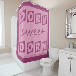 Dorm Sweet Shower Curtain
