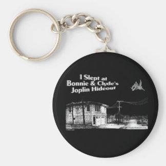 Dormí en Bonnie y la guarida de Joplin de Clyde Llavero Redondo Tipo Pin