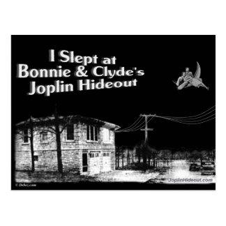 Dormí en Bonnie y la guarida de Joplin de Clyde Postal