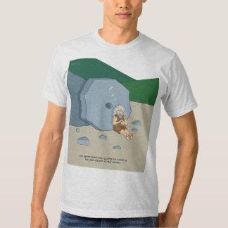 Dormido en la camiseta de la rueda (casi remera