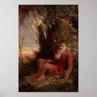 Dormido inferior, 1891 póster