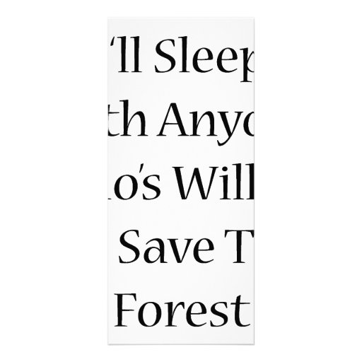 Dormiré con cualquier persona que esté dispuesto a plantilla de lona
