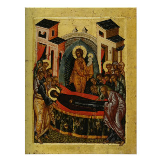 Dormition of the Theotokos (c.1497) Poster