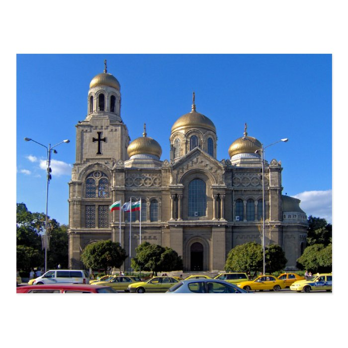 Dormition of the Theotokos Cathedral, Varna Postcard
