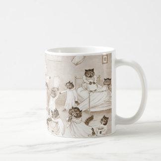 Dormitorio 1906 del Cathouse Tazas De Café
