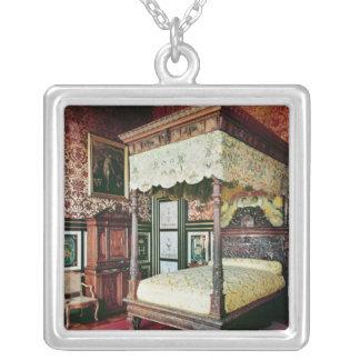 Dormitorio de Enrique II y Diane de Poitiers Collar Plateado