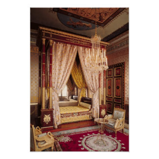 Dormitorio de la reina Hortense de Beauharnais Posters