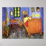 Dormitorio de Vincent van Gogh en Arles Poster