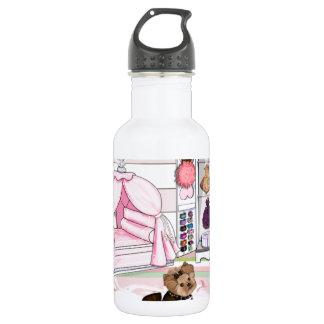 Dormitorio del francés de Millie LaRue Botella De Agua De Acero Inoxidable