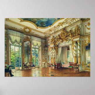 Dormitorio del Tsar Alejandro I Posters