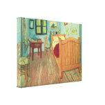 Dormitorio en Arles de Vincent van Gogh Lona Envuelta Para Galerias