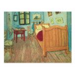 Dormitorio en Arles de Vincent van Gogh Postal