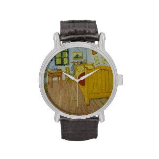 Dormitorio en Arles de Vincent van Gogh Relojes De Mano