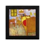 Dormitorio en Arles de Vincent Willem Van Gogh Cajas De Recuerdo