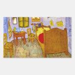 Dormitorio en Arles de Vincent Willem Van Gogh Rectangular Altavoz