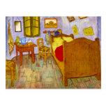 Dormitorio en Arles de Vincent Willem Van Gogh Tarjetas Postales