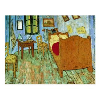 Dormitorio en bella arte de Arles (F484) Van Gogh Postal