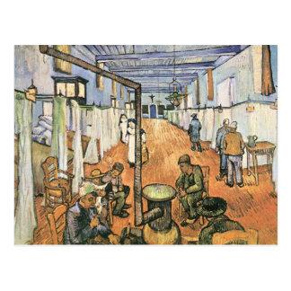 Dormitorio en el hospital en Arles de Van Gogh Tarjeta Postal