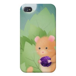Dormouse dinner - iphone case iPhone 4/4S case