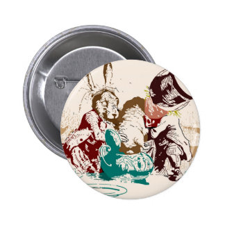 Dormouse in the Teapot Mad Tea Party Pins