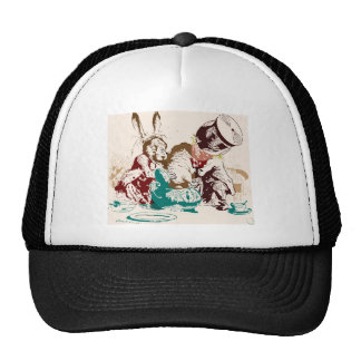 Dormouse in the Teapot Mad Tea Party Trucker Hat
