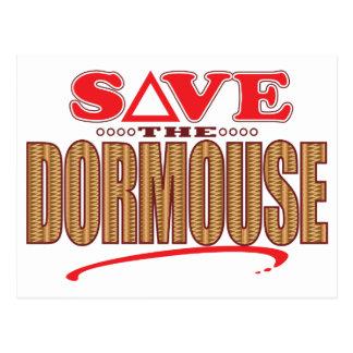 Dormouse Save Postcard