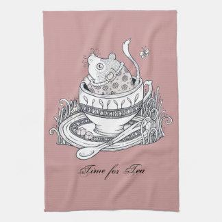 Dormouse Tea Towel
